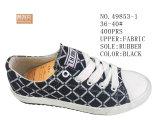Numéro 49853 Madame Canvas Stock Shoes de trois couleurs