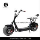 vespa eléctrica grande Citycoco de 60V 1000W Harley con el paquete desmontable movible fácil de la batería