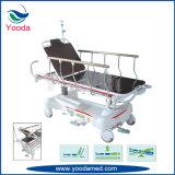 Carretilla paciente ajustable de la transferencia de la altura inestable