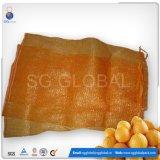 Durável 25kg sacos de malha de PP para o acondicionamento de frutas e produtos hortícolas