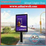 Алюминиевая коробка напольный рекламировать водоустойчивая СИД светлая