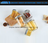 Luftdichte Kaviar-Honig-Marmeladen-Glas-Glaswaren mit Zinn-Schutzkappe