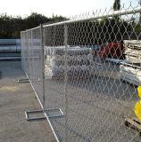 Rete fissa provvisoria saldata costruzione galvanizzata di collegamento Chain, rete fissa della maglia di collegamento Chain