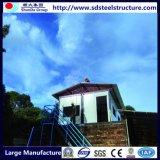 상류 직류 전기를 통한 강철 구조물 조립식 작은 집