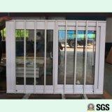 Finestra di scivolamento di UPVC con la rete di Buglar dell'acciaio inossidabile, finestra di UPVC, finestra del PVC, finestra K02085