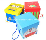Caixas de cartão ondulado de empacotamento impressas costume