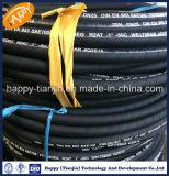 DIN EN853 2SN do tubo flexível de borracha do Óleo Hidráulico