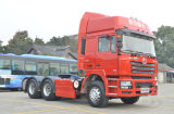 Shacman D'long 6X4 375HPの頑丈なトラクターのトラック