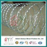 Stainless Steel Concertina Razor Wire/Galvanized Concertina Razor Barbed Wire