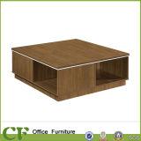 Einfaches Empfang-Bereichs-Sofa-gesetzter Tee-Tisch mit Metallrahmen
