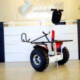 電気ゴルフカート2000Wを立てる電気スクーターの風の粗紡機のバランスをとる2車輪
