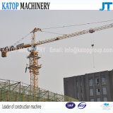 Qtz63 Series 6t load Tower Crane with 56m boom length From China Supplier