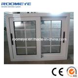 Doppia finestra di scivolamento di alluminio di vetro di alta qualità con la griglia