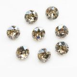 Jewelryのための高品質K9 Glass Rhinestone Pointed Rivoli Stone
