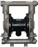 공기에 의하여 강화되는 격막 펌프