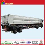 8 관 Trailer 20FT H2 CNG Jumbo Tube Bundle Container