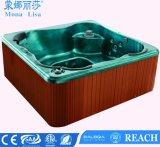 Bañera de Hidromasaje portátil al aire libre romántico SPA (M-3317)