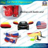 Автомобиль с флагом крышки наружного зеркала заднего вида со стороны En71 сертификации для рекламы или продвижения по службе (NF13F14010)