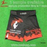 O Sublimation feito sob encomenda MMA ostenta o Sportswear dos Shorts do treinamento