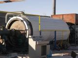 Haut de profits et des déchets à faible risque l'usine de pyrolyse des pneus (WJ-6)