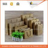 Sac de papier chaud de bleu de prix usine de vente de bonne qualité