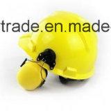 保護安全ヘルメットキット-ヘルメット+耳のマフ/ハンドシールド