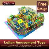 CE thème coloré en plastique du château de terrain de jeux intérieur (ST1404-1)