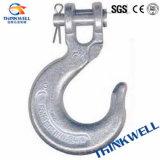 Crochet à glissière en acier forgé