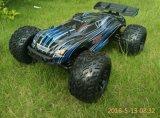 Carro sem escova elétrico da escala RC da potência do chassi 4X4 2.4G do metal velocidade rápida do 1/10th