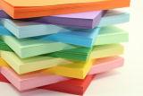 Tamanho A4, Papel Bond de cor-de-rosa/branco/verde/azul/amarelo