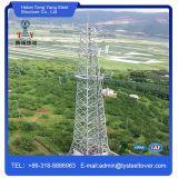 Torre de comunicação de aço do ângulo equipado com pernas da Muti-Função quatro