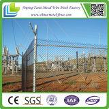 高品質によって使用される電流を通されたチェーン・リンクの塀