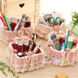 Cadre de mémoire de bureau créateur, cadre de mémoire de tissu pour des produits de beauté/cadeau/contrôleur éloigné