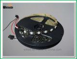 Indicatore luminoso di striscia indirizzabile di DC5V Digitahi LED con 60LED/M SMD5050 Ws2812b