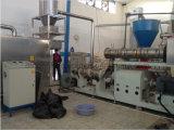 水生供給の餌の加工ライン