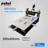 Impresora de la pantalla del LED SMT, impresora manual de la plantilla