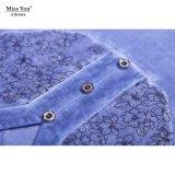 Vestito di un pezzo blu-chiaro dell'OEM della sig.na You Ailinna 102938 dal vestito lungo dalla fibra