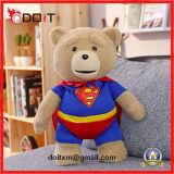 De Pluche van Kerstmis van de Teddybeer van de Bevordering van de Jonge geitjes van de Producten van de baby vulde Zacht Speelgoed