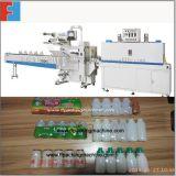 L'AP contrôlent la machine automatique d'emballage en papier rétrécissable de bouteilles à lait