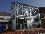 Casas prefabricadas del chalet de la estructura de acero de la prueba de acero ligera del terremoto