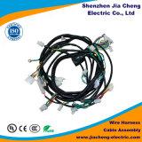 Chicote de fios do fio do equipamento médico com os multi conetores de pinos