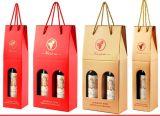 Дешевая коробка упаковки вина коробки вина бутылок для горячих сбываний