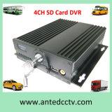 車のスクールバスの手段のための二重SDのカード移動式DVR