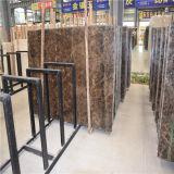 Marmo Polished della lastra, mattonelle scure della lastra di Emperador per la parete