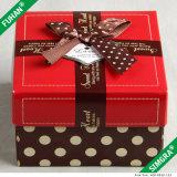 Caja de embalaje del regalo de la boda y de la Navidad