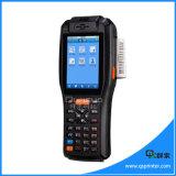 Touch Screen Programado PDA portátil PDA com impressora térmica, 1d / 2D Barcode Scanner PDA Android