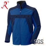 Revestimento ao ar livre Soft Shell & Polar Fleece com colar de suporte (QF-433)