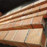 6m langes stark gezeichnetes dekoratives quadratisches Messinggefäß Cuzn36