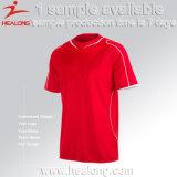 Camisa do futebol dos homens da venda por atacado do Sportswear de Healong com alta qualidade