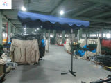 HzUm54 2.5X2.5meter鋼鉄レンチの傘の庭の傘ハングパラソルの屋外の傘ハングパラソル